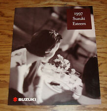 Original 1997 Suzuki Esteem Sales Brochure 97