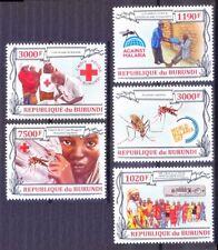 Burundi MNH 5v, Malaria Prevention, Disease, Medicine -W1a