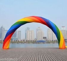 Brand New Discount 20ft*10ft D=6M/20ft inflatable Rainbow arch Advertising