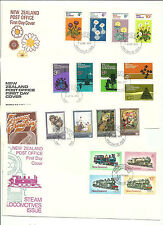 NEW ZEALAND- 8  COVERS,  MAINLY FROM 1970s