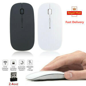 Laptop Silent Cordless USB Mouse Wireless Optical Computer Mouse for Windows10/8