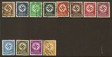 1934 Party Swasitka 3pf-50pf used