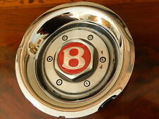Bentley Mulliner Continental R  1 center cap + Bowl for 9.5X18  Chrome Wheel NLA
