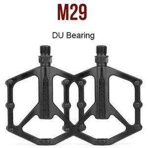 1 pair PROMEND Mountain Road Bike Pedal Lightweight Aluminium  DU Bearing Pedals