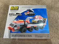 Click Brick - Next Generation - Heavy Construction Set - New
