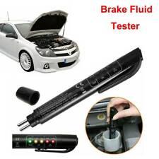 Brake Fluid Liquid Tester Pen Car Auto Oil Moisture Diagnostic Tool 5 Led NEW