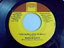 Marvin Gaye You Sure Love To Ball / Just To Keep You Satisfied 45 Vinyl Record