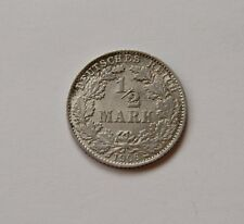 KAISERREICH: 1/2 Mark 1906 D, J. 16, stempelglanz !!!