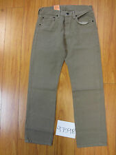 levi's 501 tan J8000 color jeans Irregular 31x30  9759R