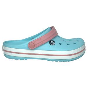 Crocs Crocband Womens Clog Cute Water Friendly Stylish & Comfy Light Blue Sz 7,8