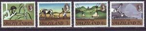 Swaziland 1968 SC 139-142 Set MNH Independence