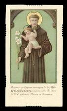 santino-holy card*S.ANTONIO DA PADOVA-RAVENNA