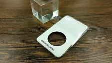 white front faceplate housing case cover for ipod 5th gen video 30gb 60gb 80gb