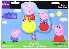 Amscan Internacional Super / forma Peppa cerdo Globo