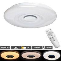 LED Deckenlampe Wohnzimmer Schlafzimmer mit Fernbedienung 48 Watt Dimmbar