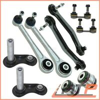 SUSPENSION CONTROL ARM WISHBONE SET +STABILISER LINK REAR BMW X5 E53
