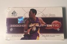 2000-01 Upper Deck SP Authentic Factory Sealed Basketball Hobby Box