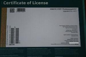 Simatic Step 7 Prof. V17/2021 Combo TIA-Portal Upgrade V11-V16 -> V17   Siegel