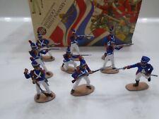 Napoleonic War Airfix 1/32 British Infantry Excellent Plastic Painted 9 pcs