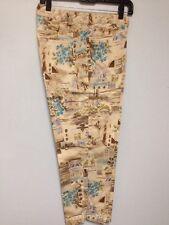 Dress Pants Size 10 Rafaella Stretch Flower Vila Villa Design