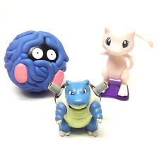 "Nintendo Games POKEMON Monsters 3 - 4"" high Toy Action Figures lot set MEWTO go"