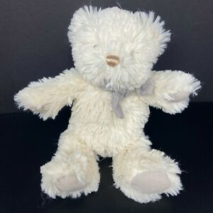 Baby Gund Amandine Cream Shaggy Teddy Bear Plush Chime Stuffed Animal FAST SHIP