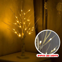 60cm LED Birch Tree Lamp Warm Light Home Party Wedding Decor Christmas Gift ✔☆