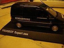 """Norev : Peugeot Expert  """" Gendarmerie """"  2004 - 1/43 -- TBE"""