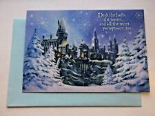 Hallmark Harry Potter Christmas Boxed Cards 16 Cards and 17 Envelopes