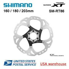 Shimano Deore XT Ice-Tech SM-RT86 6 Boulons Disque Frein Rotors 160 180 203mm
