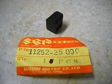 NOS OEM Suzuki Crankcase Rubber Pad 1970-96 FA50 Shuttle RM125 GS550 11252-25000