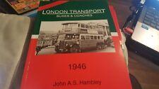 London Transport Buses & Coaches: 1946 book John A.S. Hambley (1996) P/B ebay uk