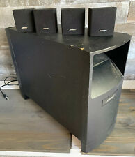 Bose Acoustimass 6 Series III Home Theater Speaker System 4 Speakers & Subwoofer