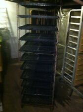 Bakery / bread rack with 11 trays + extra trays -PRICE REDUCED -SEND BEST OFFER