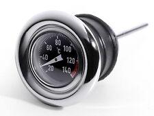 Olio Temperatura Asta livello Celsius Termometro per Harley-Davidson Softail