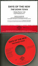 Tantric DAYS OF THE NEW Down Town w/ RARE RADIO REMIX PROMO DJ CD Single 1998