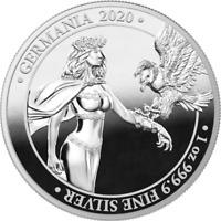 Germania 2020 5 Mark - Germania 2020 Proof - 1 Oz Proof Silbermünze