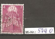 Luxemburg Mi-Nr.: 574 Europa 1957 sauber gestempelter Wert