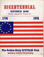 Golden Strip History SC Mauldin Simpsonville Fountain Inn Bicentennial Book