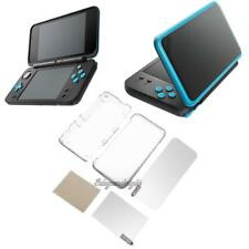 Transparent Protective Hard Shell Cover Case+Screen Film for New Nintendo 2DS XL