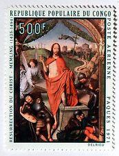 Congo tableau  Resurrection du  Christ   1971   NEUF ** PA 116 88M596