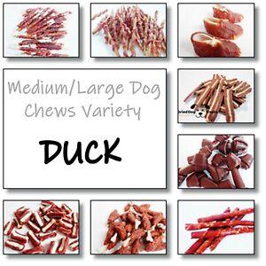 STARSELLING 500g Duck Medium / Large Dog CHEWS VARIETY - Treats, snacks pet food