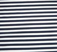 tissulycra rayé noir blanc 50cmx140cm