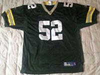 Clay Mathews Green Bay Packers Reebok NFL Football Jersey Size 54