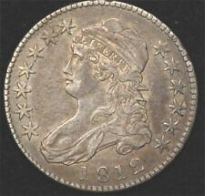1812 Capped Bust Half, AU, much luster remains