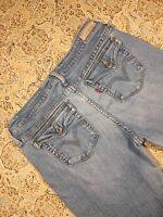 Levis Brand Women's Designer Blue Jeans Size 10 Medium Boot Cut Pants Western