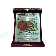 AMOUR plaque d'immatriculation de l'amour personnalisable avec la boîte eco-cuir