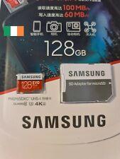 Samsung EVO Plus 128GB Micro SD Card 4K Class 10 SDXC TF Memory U3 100MBs