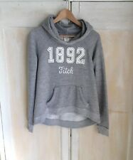 Abercrombie and Fitch Gris 1892 Sudadera Con Capucha Talla S