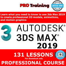Course 2019 3DS Lessons MAX Tutorials Training PRO see more 2020 Skills